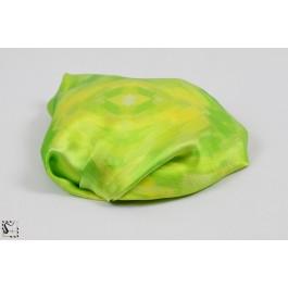 Châle en soie - Brush - vert