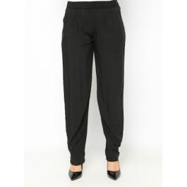 Pantalon fluide avec poches - noir
