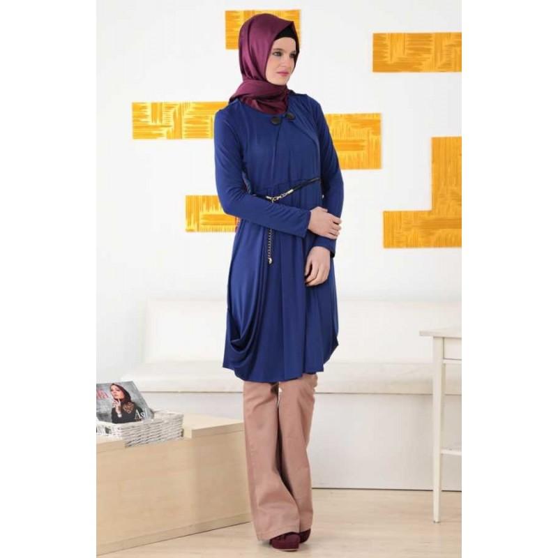 Robe tunique avec pantalon