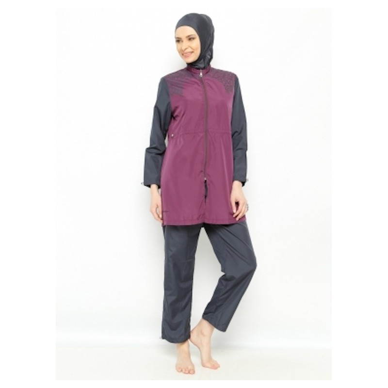 Souvent Maillot de bain hijab - prune - UrbaineChic.ma OA41