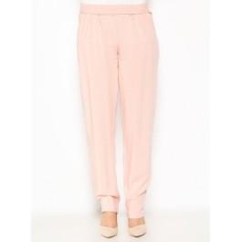 Pantalon fluide avec poches - rose poudré