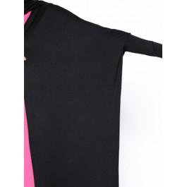 Cardigan long effet loose - noir
