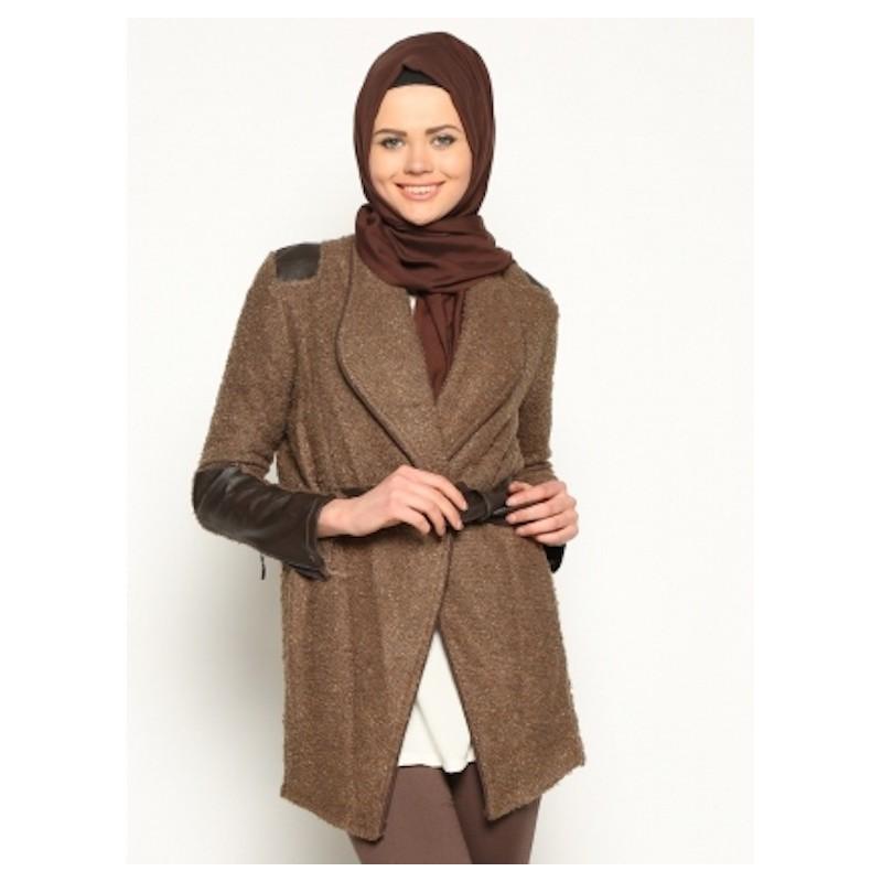 Veste en cuir femme maroc