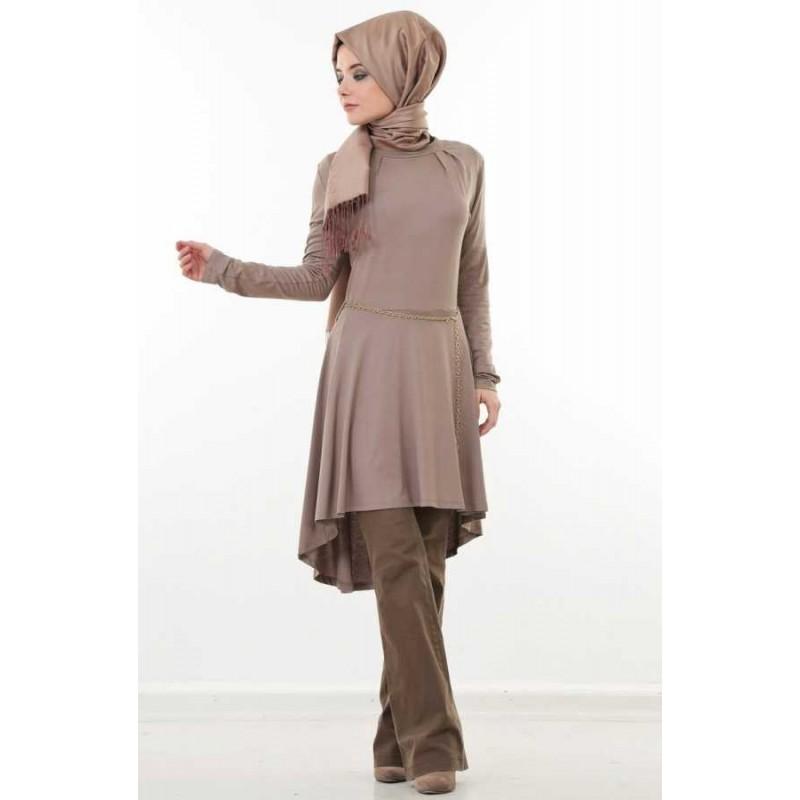 chemise femme longue hijab. Black Bedroom Furniture Sets. Home Design Ideas