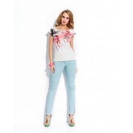 T-shirt manches courtes - imprimé à fleurs